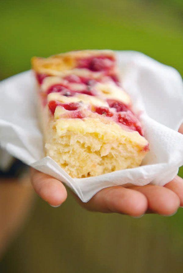Rote johannisbeeren torte