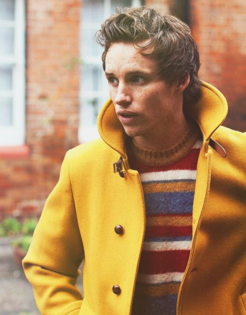 Eddie Redmayne. His face is like no other. I love guys who don't have stereotypical, blow-out hot faces, because they are more interesting. But that doesn't mean I don't like drop-dead gorgeous ones either.