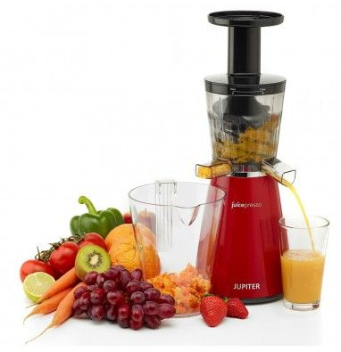 Extracteur de jus vertical Juicepresso - Rouge