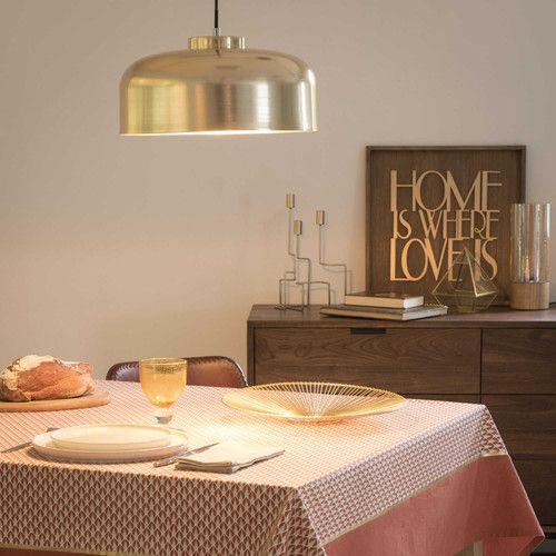Lámpara de techo de metal dorado D 35 cm GOLDRUSH