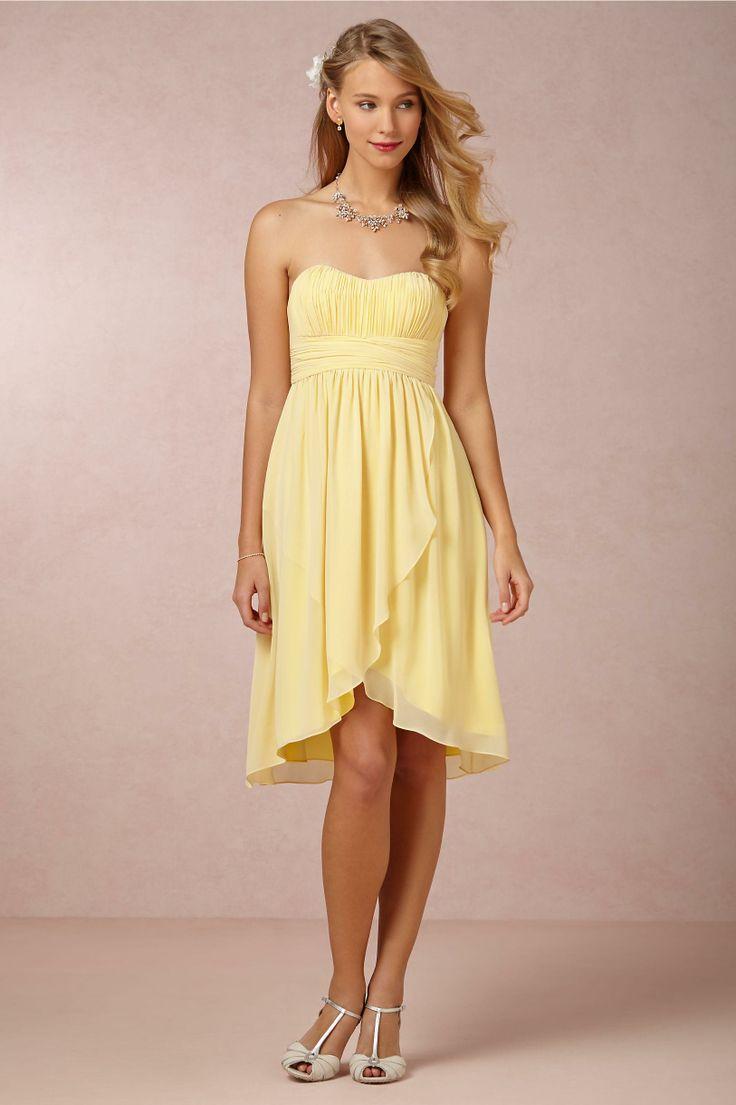 186 best wedding dresses images on pinterest wedding dressses sunlight yellow bridesmaids dress from bhldn ombrellifo Choice Image