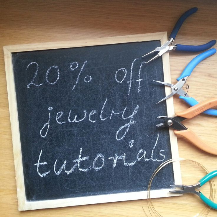 20% discount on all jewelry tutorials in my shop with coupon code: TUTORIALSALE20 DIY your Christmas presents or wedding jewelry. Deal of the week...valid until Nov 4th only. Watch out for the next deal of the week from HelenaBausJewellery
