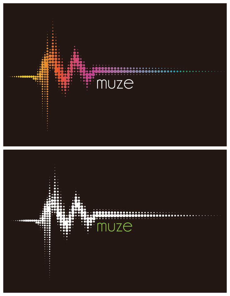 Logo Design- Muze (Music App)