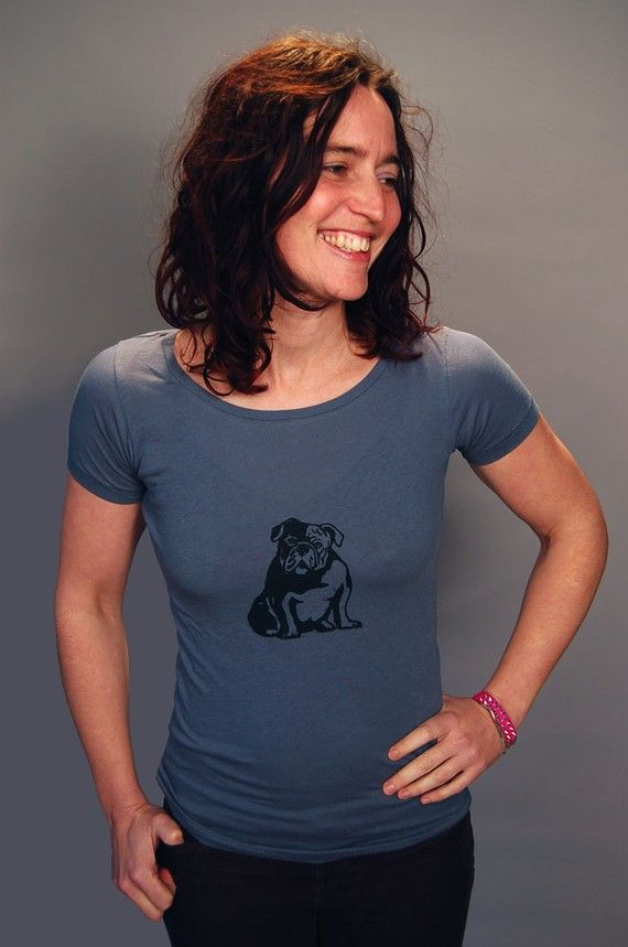 my faithful Bulldog Shirt English Bulldog Yoga by nicandthenewfie