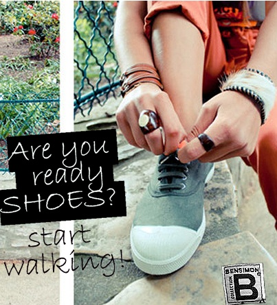 These shoes are made for walking! Bensimon Greece