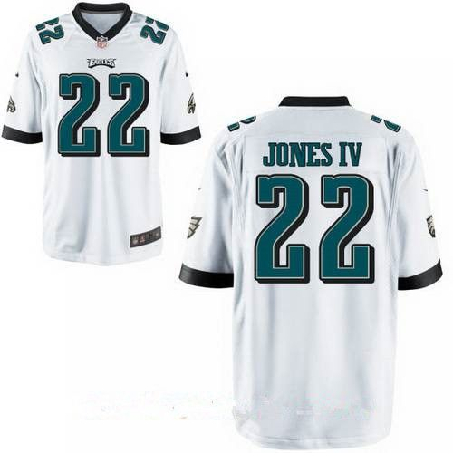 e4d8555c06f Philadelphia Eagles #22 Sidney Jones IV White Road Stitched NFL Nike Elite  Jersey
