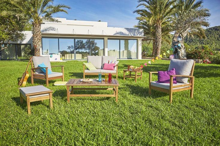 Hyba Salon Bas De Jardin New Morocco Meubles Pas Cher Agrement De Jardin Jardins Et Jardin De Reve