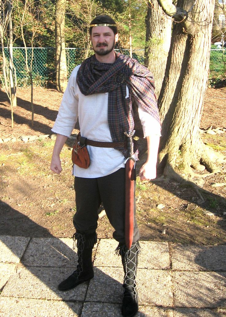 how to make a celtic costume