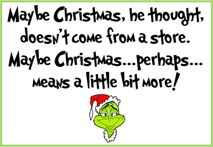 Grinch printable, Dec. 2012 - used Grinched font from dafont.com