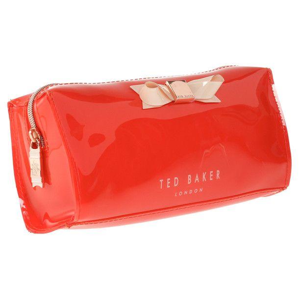 Jakko Make Up Case Orange by Ted Baker London   Great Gift