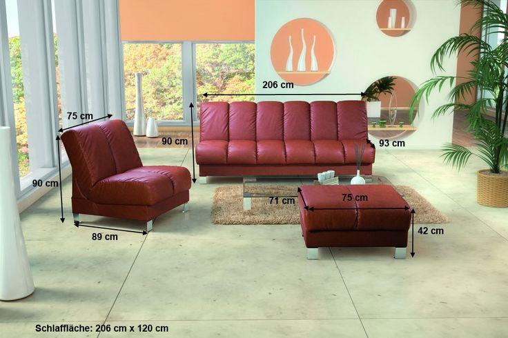 Sofa Roger ist in verschiedenen Stoffen und Farben ohne zusätzliche Kosten verfugbar.  Wir bieten Ihnen eine Vielfalt von robusten und pflegeleichten  Stoffen in unterschiedlichen Farben.  Sofa:   Breite: 206 cm   Tiefe: 93 cm   Höhe: 90 cm   Schlaffläche: 206 cm x 120 cm  #sofa #ecksofa #komfort #schlaffunktion #polstergarnitur #couch