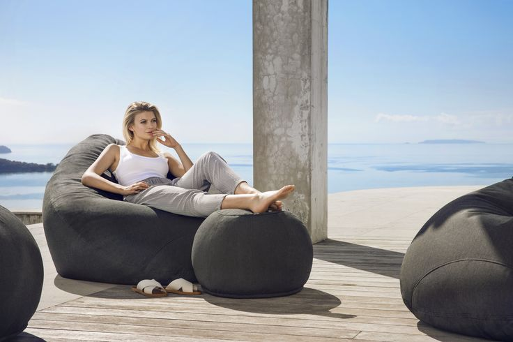 Kyoto Outdoor Bean Bag Collection - stylish, comfortable and durable #putlifeonpause #lujo #outdoorfurniture