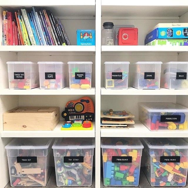 Playroom Decor And Ideas On Pinterest In 2020 Toy Room Organization Playroom Organization Kids Toy Organization