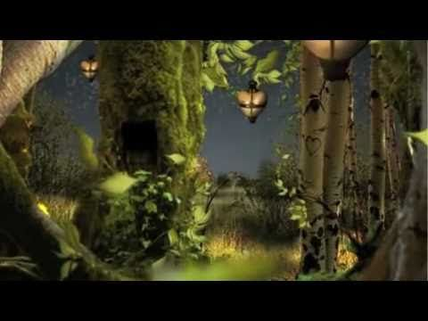i have decided you cant have a plain wedding card box...this is my inspiration. a tree with a hole ....Birthday Fairy in Magical Forest - YouTube