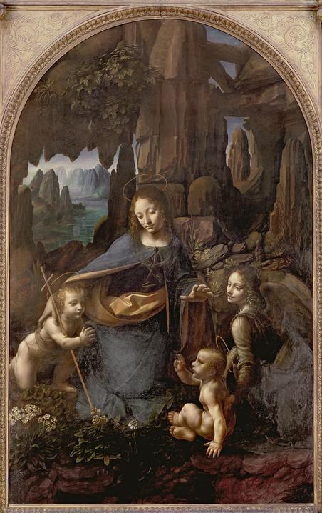 """The Virgin of the Rocks"" by Leonardo da Vinci (C16)"