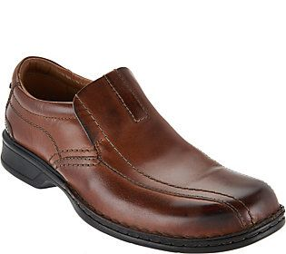Clarks Men's Leather Slip-on Shoes - Escalade Step