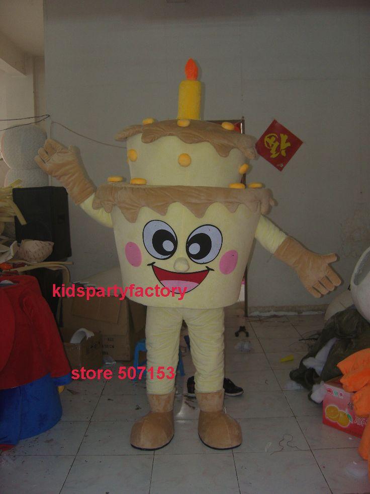 Sommer heißer verkauf!! Neue Erwachsene größe kuchen maskottchen kostüm mit anzüge schuhe hände phantasie party kleid Halloween kostüm //Price: $US $205.00 & FREE Shipping //     #clknetwork