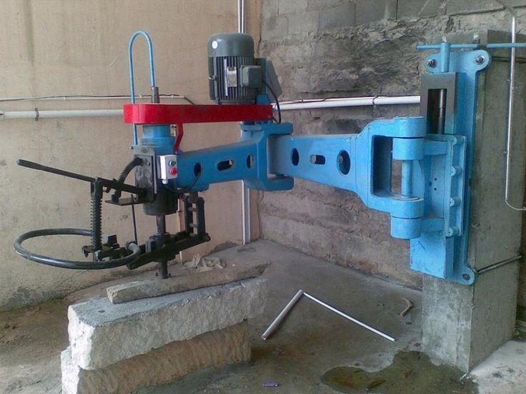 radial arm granite polisher machine http www. Black Bedroom Furniture Sets. Home Design Ideas
