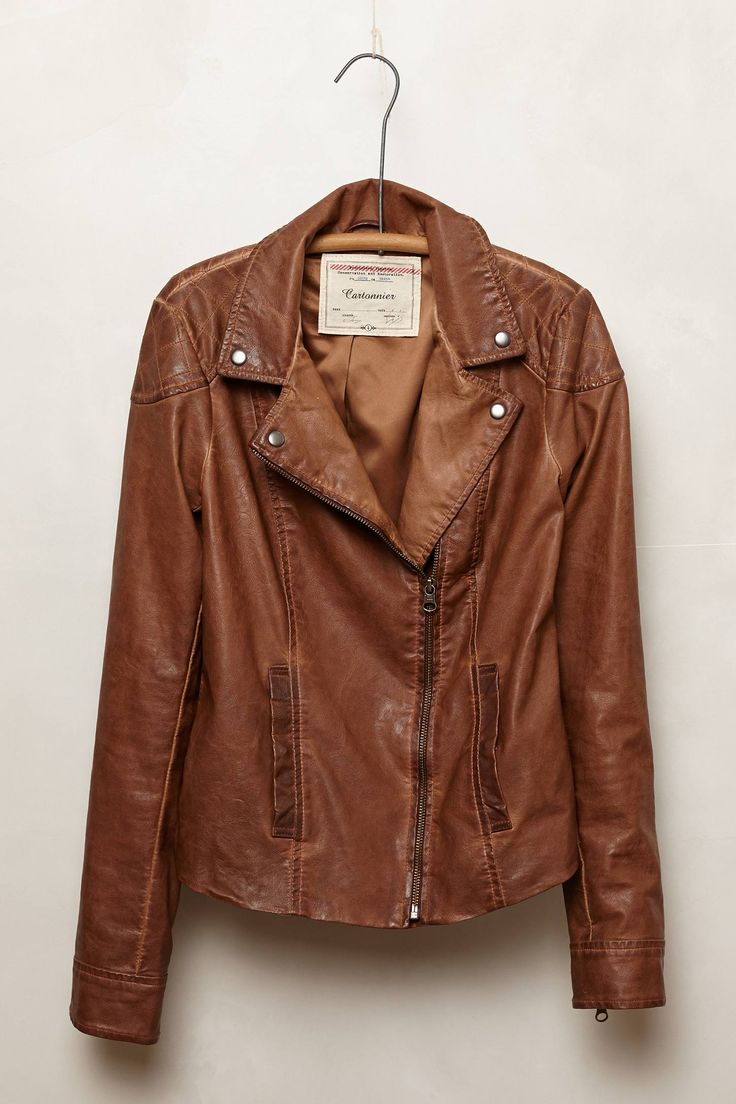 Vegan Leather Jacket - anthropologie.com THE PERFECT leather jacket