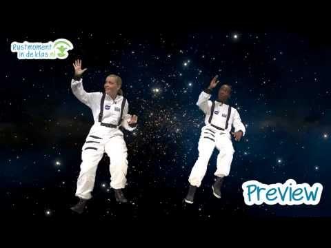 Rustmoment in de klas.nl ǀ preview groep 1 t/m 6 (4 t/m 10 jaar) ǀ In de ruimte - YouTube