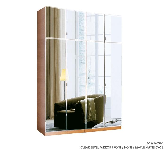 8 Door Set Of Hanging Wardrobe Closets W 34