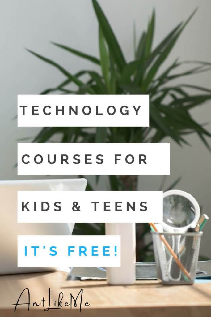 Top 5+1 Free Technology Courses for Kids & Teens