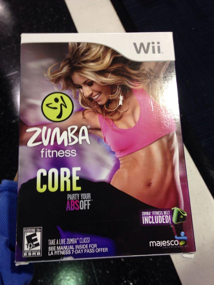 Zumba wii fitness core