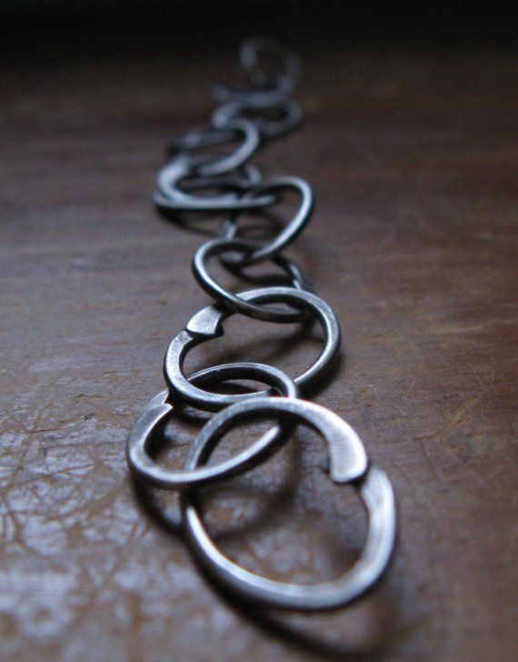 Booker T. Bracelet by Erica Walker/ Once I know what metal to use and how to hammer it using which hammer and how to form it. I've got this covered.