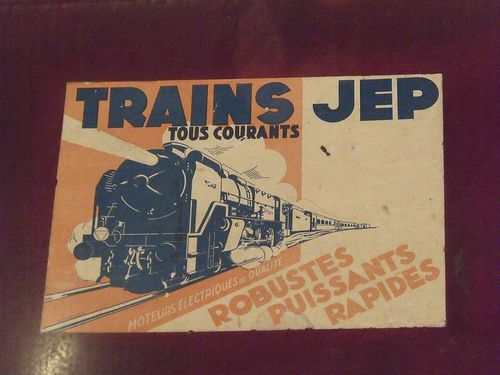 Trains JEP Poster