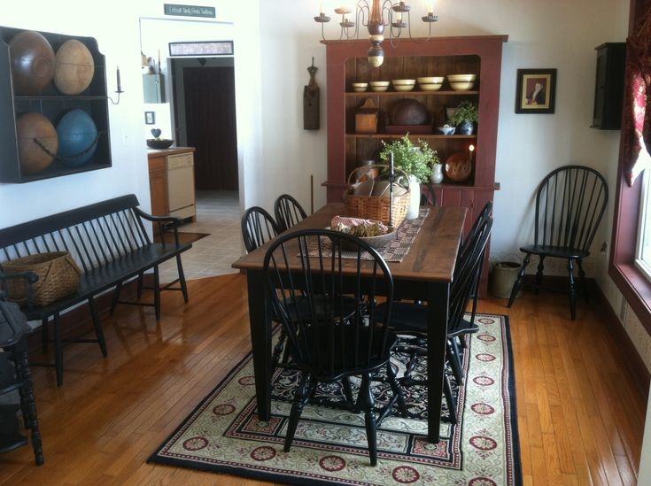 primitive dining room on pinterest pewter dry sink and dining rooms