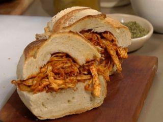 Sandwich de pollo de la abuelita
