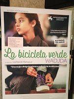"""Recomendamos la película """"La bicicleta verde"""". En algunos países las mujeres no pueden ir en bici..."""