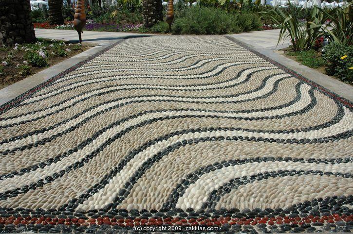 Kumköy Beach Hotel Side / ANTALYA | Çakıltaş | Pebble Mosaic