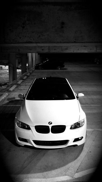BMW 3 Series; scott says we get white, i say silver :)