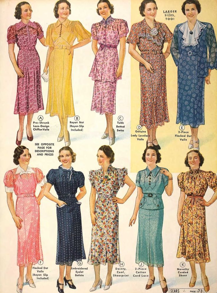 More patterns and 1930's style dresses | 1930s Fashion ...