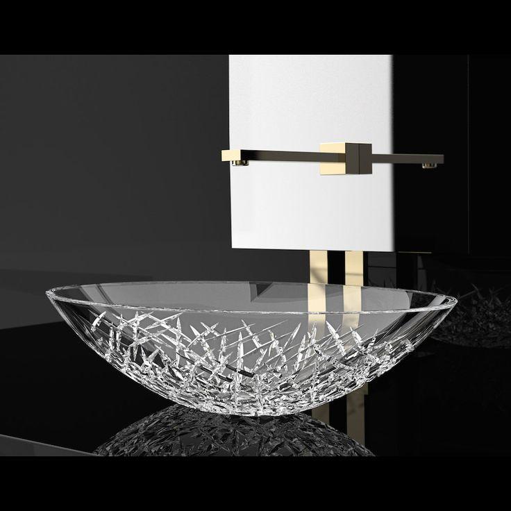 8 Best Crystal Vessel Sinks Images On Pinterest Sink Vessel Sink And Modern Sink
