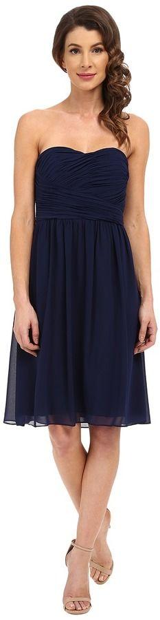Donna Morgan Sarah Dress Short Rouched Dress Women's Dress