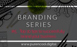 Top 10 tips to brand your business