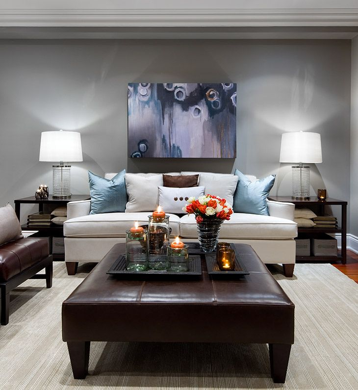 Photos of living rooms and family rooms