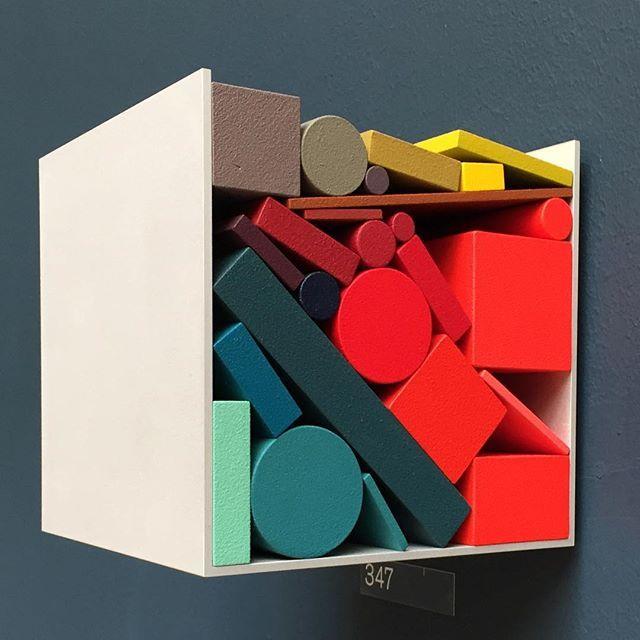 Cubing Color at #rasummer w. Sophie Smallhorn #art #london