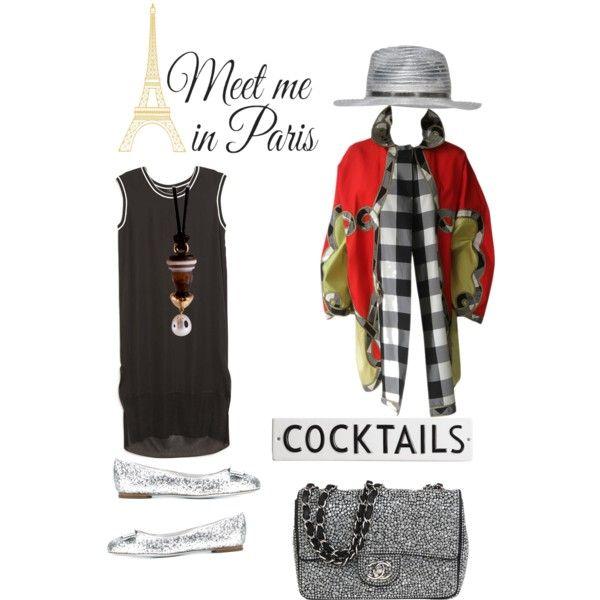 The Parisialist by kit92 on Polyvore featuring polyvore, mode, style, rag & bone, Versace, Salvatore Ferragamo, Chanel, Giorgio Armani, WallPops and Rosanna