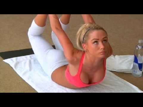Sara Jean Underwood doing Bikram Yoga - YouTube