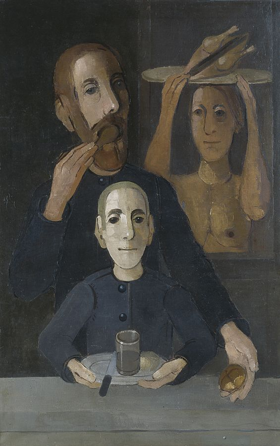 Kiejstut Bereźnicki - Trzy postaci przy stole