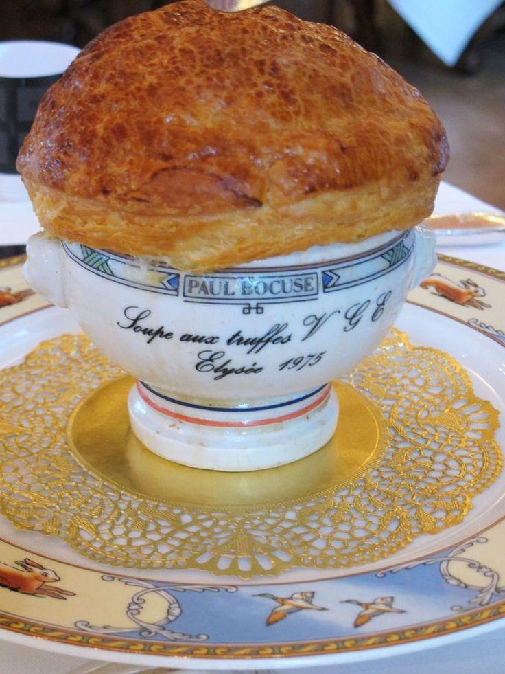 Paul Bocuse's famous truffle soup