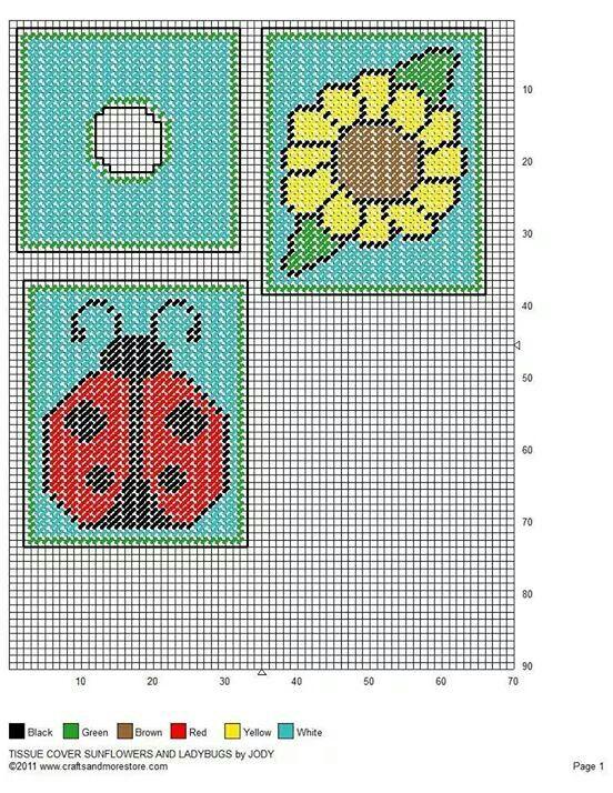 Ladybug and sunflower tbc