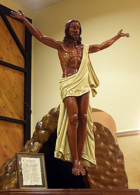 """Museo de la Semana Santa de Andorra. """"EL RESUCITADO""""."""