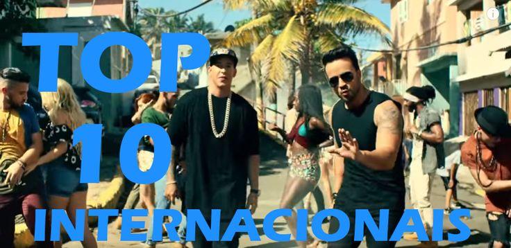 Confira o Top 10 músicas internacionais mais tocadas. Ouça as músicas internacionais mais tocadas nas rádios do Brasil.