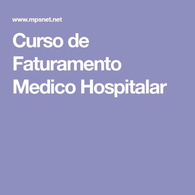 Curso de Faturamento Medico Hospitalar