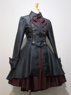 Gothic lolita outfit by Atelier Boz.