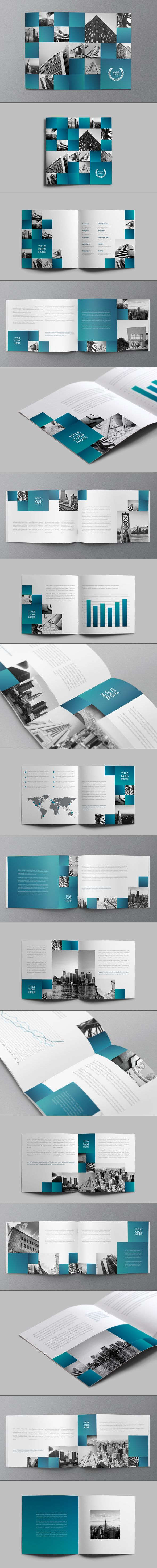 Architecture Squares Brochure by Abra Design
